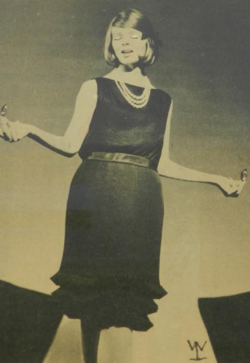 Tančíčí dívka